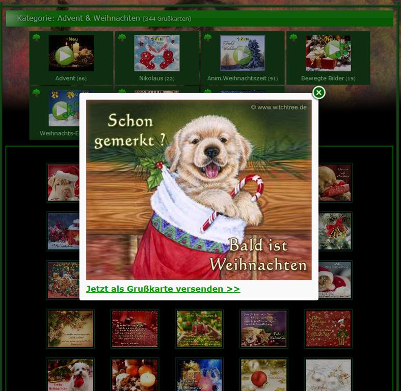 Animierte Weihnachtskarten Mit Musik.Animierte Advents Und Weihnachtskarten Bei Witchtree Senec Fe Weblog