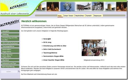 Alteraktivwebsite
